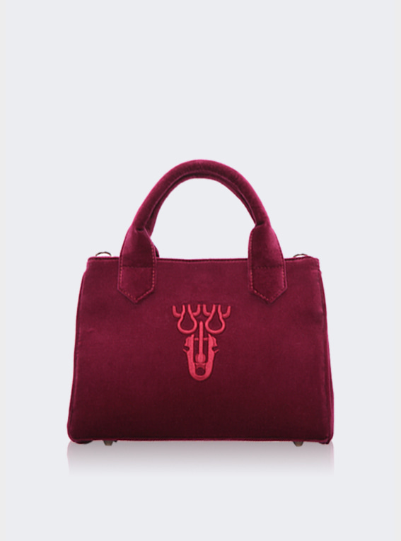 V Fan.C bag - Wine