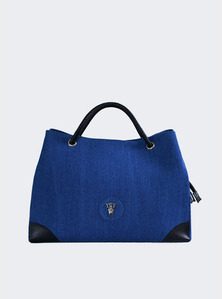 Rope shoulder bag - Blue(L)